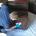 Professional Upholstery Cleaning-4