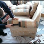 Professional Upholstery Cleaning - HWE-1