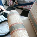 Professional Upholstery Cleaning - HWE-4