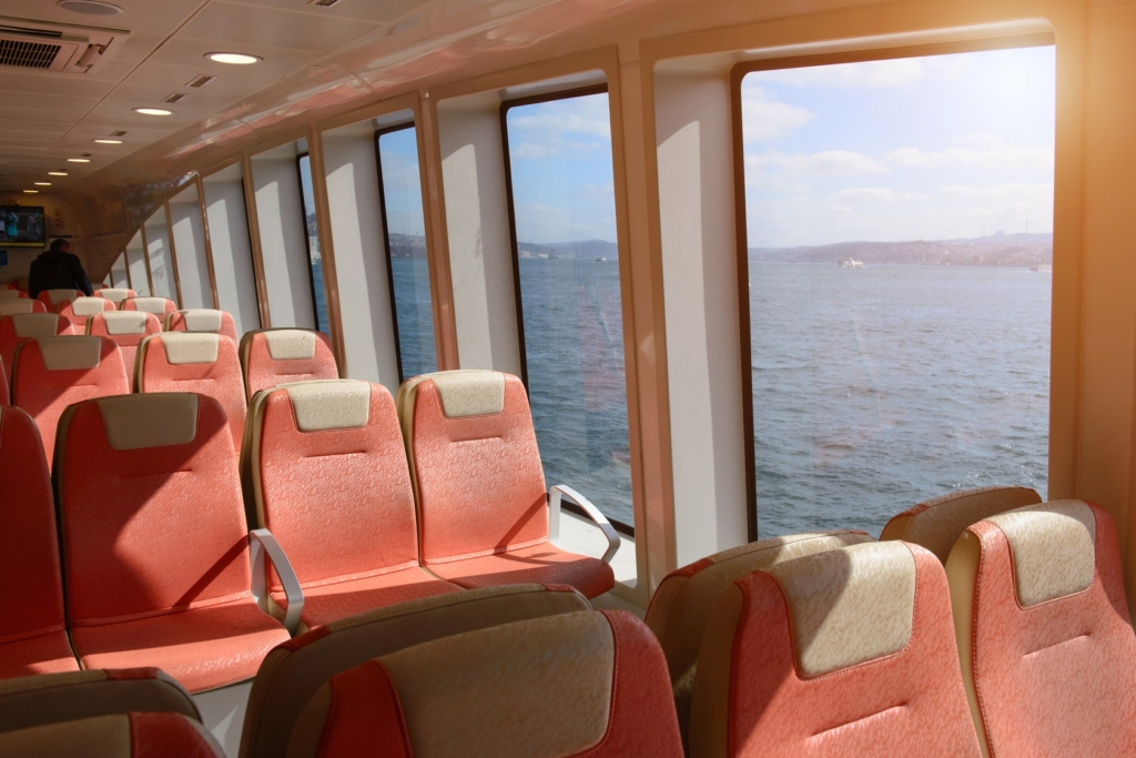 Ferry and Boat Upholstery and Floor Cleaning