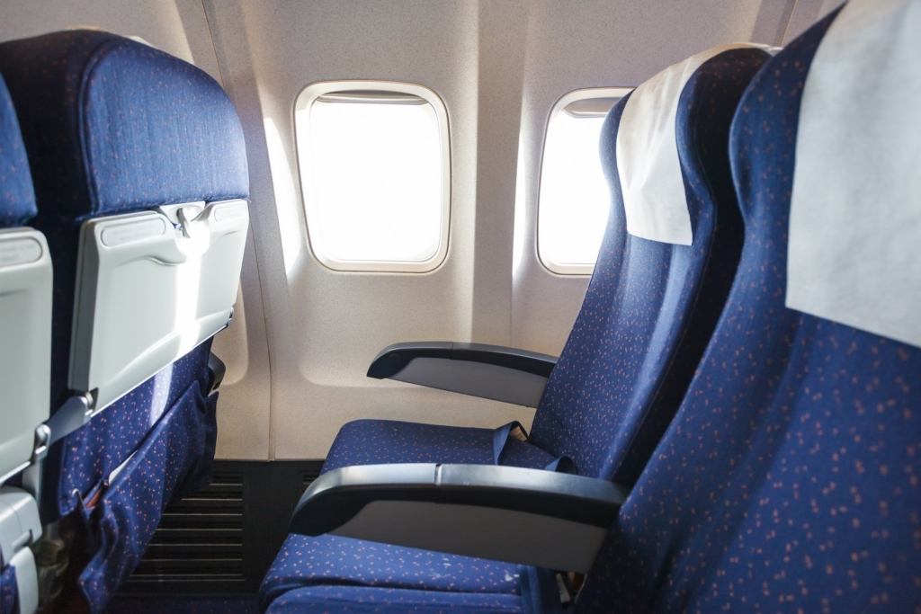 Large Aircraft Upholstery and Floor Cleaning