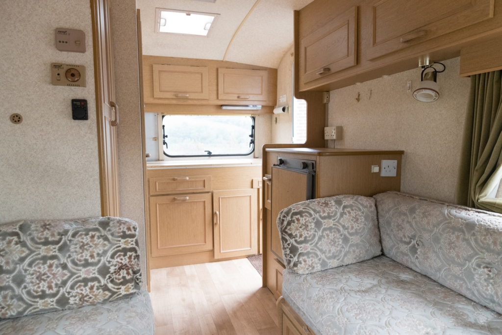 Motorhome and Caravan Upholstery and Floor Cleaning